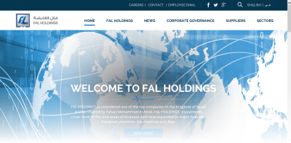 FAL Holdings launches its new website